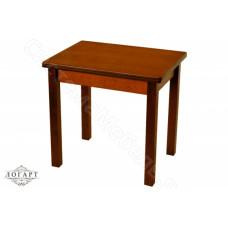 Стол обеденный раскладной Филин из натурального дерева