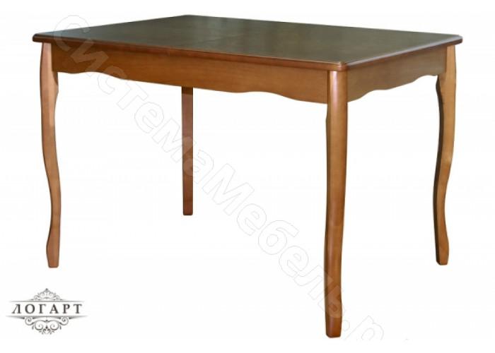 Стол обеденный раскладной Манул из натурального дерева