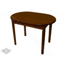 Стол обеденный раскладной ВМ40 из натурального дерева