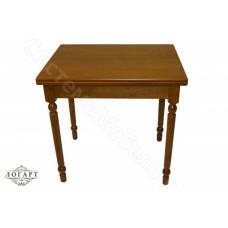 Стол обеденный раскладной ВМ50 из натурального дерева