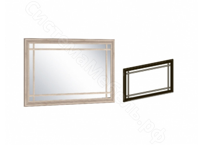 Модульная прихожая Бруно - Зеркало малое. Дуб сонома