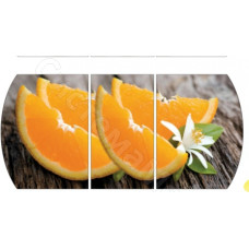 Раскладной. Фотопечать - Апельсин (принт 015)