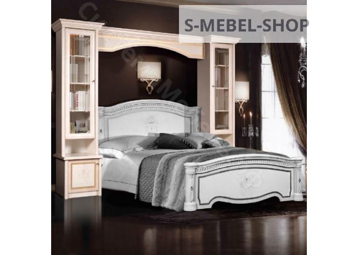 Модульная спальня Карина 3 - Прикроватный мост. Беж