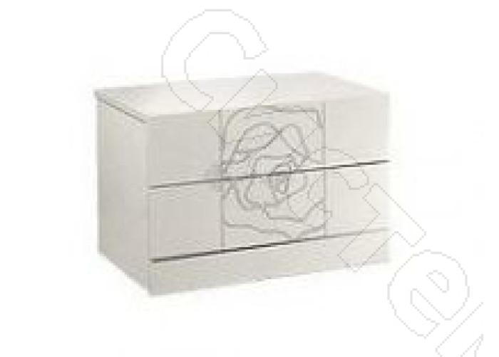 Модульная спальня Роза - Тумба прикроватная (1 шт.). Слоновая кость