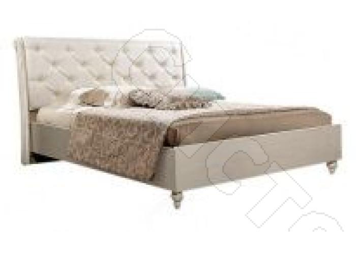 Модульная спальня Венеция - Кровать 2-х спальная 1,4 м с подъемным механизмом. Экокожа