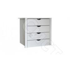 Модульная спальня Тиффани - Комод в шкаф. Слоновая кость