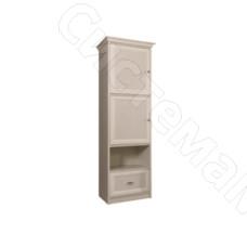 Модульная гостиная Венеция - Пенал две глухие двери с выдвижным ящиком. Дуб седан