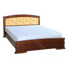Кровать Кристина 5 - Массив дерева. Цвет - Ольха