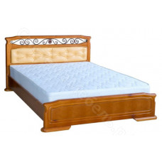 Кровать Кристина 7 - Массив дерева. Цвет - Ольха