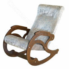 Кресло-качалка - Рогожка светлая