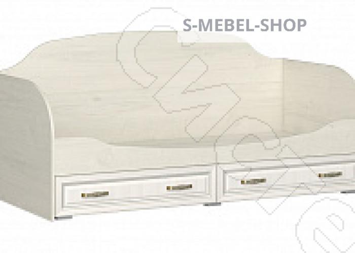 Спальня Меценат - Кровать с ящиками. Дуб