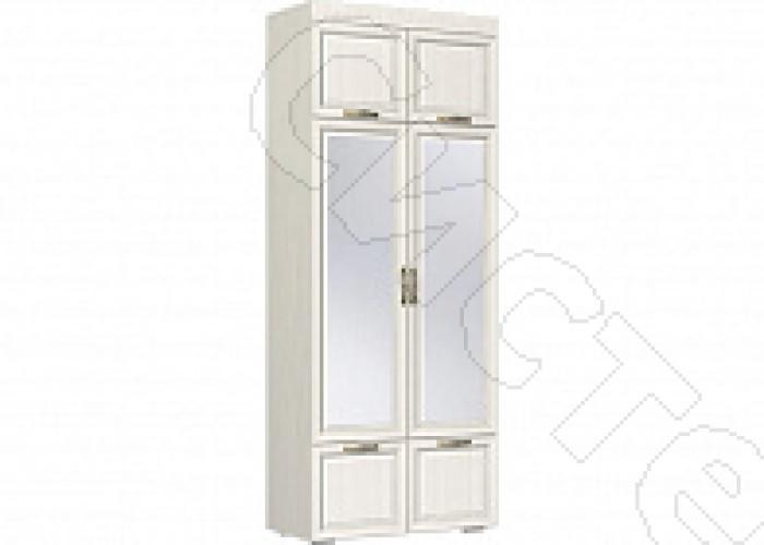 Спальня Меценат - Шкаф  комбинированный с зеркалом 440. Дуб