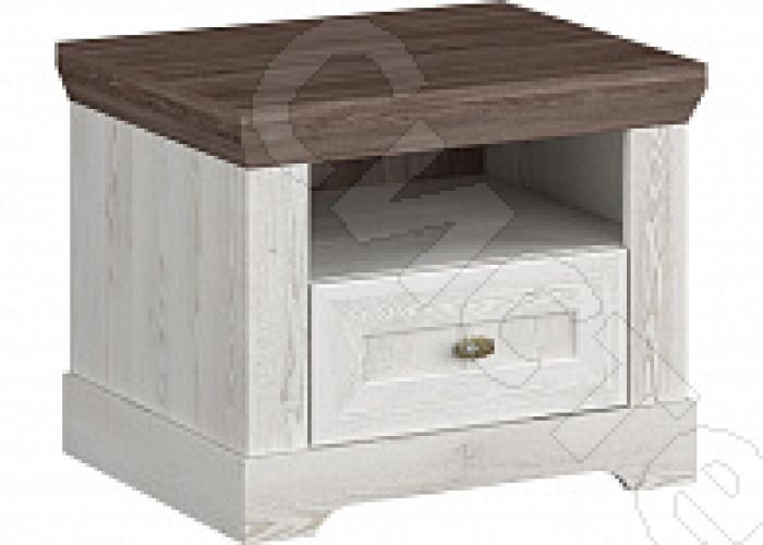 Спальня Ривьера - Тумба прикроватная 2 шт. Сосна белая/сосна джурга