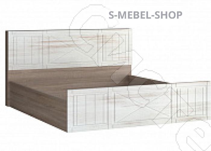 Спальня Афина - Кровать 1600 под подъемный механизм. Винтаж оксид/кантри