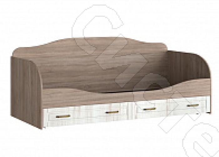 Спальня Афина - Кровать с ящиками. Винтаж оксид/кантри