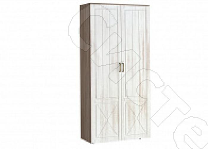 Спальня Афина - Шкаф 2-х ств. комбинированный. Винтаж оксид/кантри