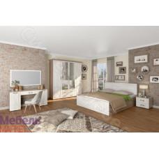 Спальня Афина - Винтаж оксид/кантри. 5 модулей