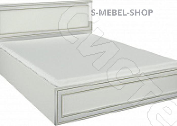 Спальня Каприз - Кровать 1200. Белый/ясень анкор