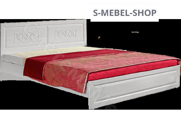 Спальня модульная Аэлита - Кровать 1,6 м. Рельеф Пастель