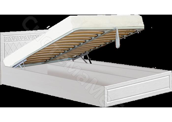 Спальня модульная Флоренция - Кровать 1,4 м подъемная. Рельеф пастель