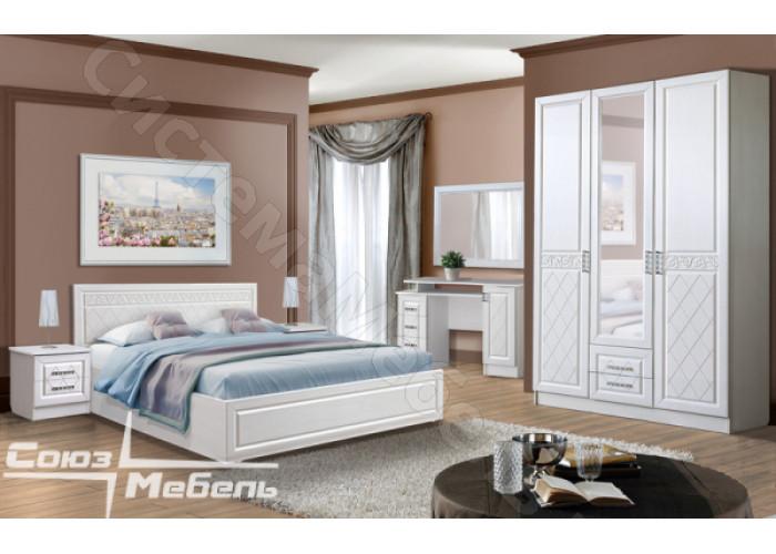 Модульная спальня Флоренция - Рельеф Пастель. До 15 модулей