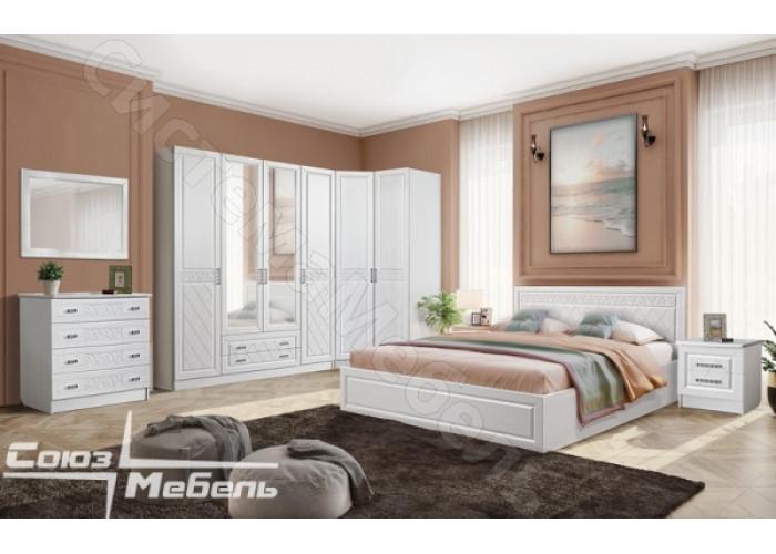 Спальня Флоренция - Рельеф Пастель. 8 модулей