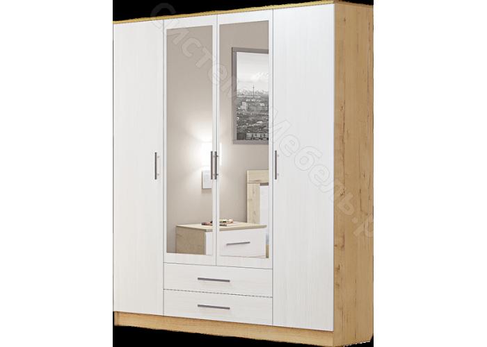 Спальня Светлана - Шкаф 4-х дверный. Бодега