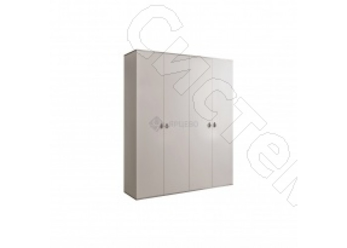 Модульная спальня Римини - Шкаф 4-х дверный без зеркал. Слоновая кость