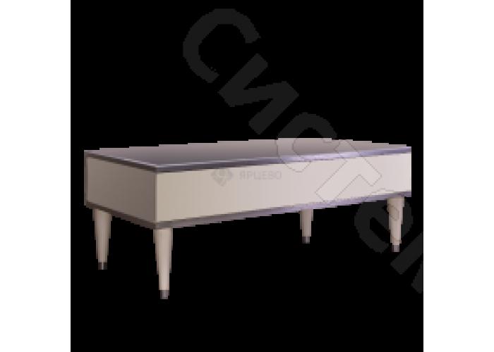 Модульная гостиная Римини - Стол журнальный с выдвижным ящиком. Слоновая кость