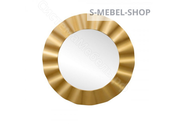 Зеркало круглое 1713 (2) - Золото