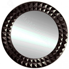 Зеркало круглое 1810 (3) - Черное