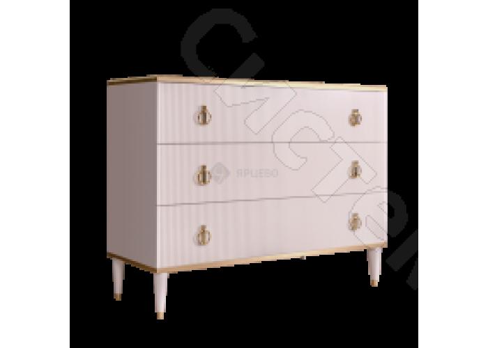 Модульная спальня Римини соло - Комод. Слоновая кость золото