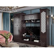 Гостиная модульная Престиж - Шоколад Венге. До 4 модулей