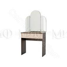 Модульная спальня Бася - Трельяж. Дуб беленый/Венге