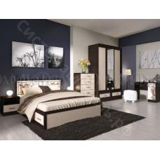 Модульная спальня Мальта - Дуб беленый/Венге. До 6 модулей