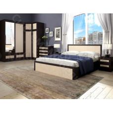 Модульная спальня Модерн - Дуб беленый/Венге. До 9 модулей