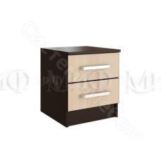 Модульная спальня Фиеста - Тумба. Дуб беленый/Венге