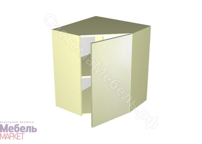 Кухня Шанталь 3 - Шкаф-антресоль ШАУ-60 Жемчуг Глянец
