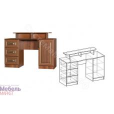 Макияжный стол (Спальня Линда) - Орех Пегасо