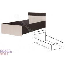 Юнга 1 Кровать Венге/Дуб молочный Детская Юнга