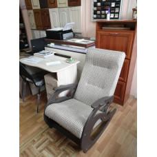 Кресло-качалка - Замша светлая