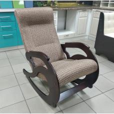 Кресло-качалка - Рогожка темная