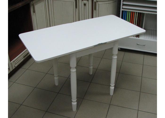 Стол Ломберный (поворотно-раскладной) без ящика - Белый