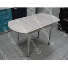 Стол кухонный ЕВРО раскладной ЛДСП - Ясень Шимо светлый