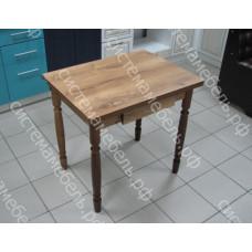 Стол ломберный (поворотно-раскладной) с ящиком - Орех