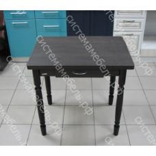 Стол ломберный поворотно-раскладной с ящиком - Венге
