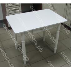 Стол ломберный (поворотно-раскладной) с ящиком - Белый