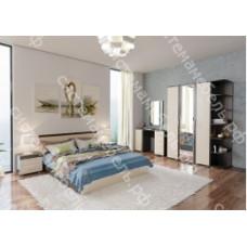 Модульная спальня Анна - Венге/Дуб молочный. 10 модулей