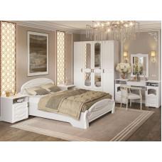Модульная спальня Калипсо МДФ - Белый. 13 модулей