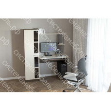 Стол компьютерный КС 1Н - Венге/Дуб молочный